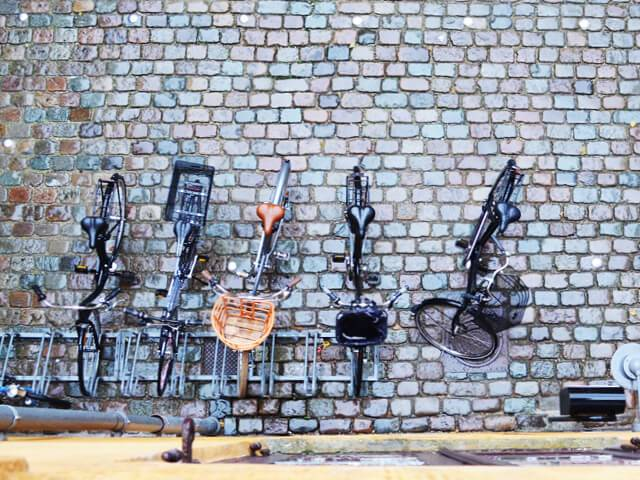 cykler i gården hos essencius