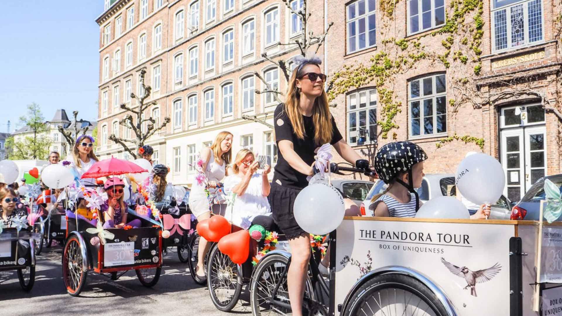 kassecykler til Pandora cykel tour