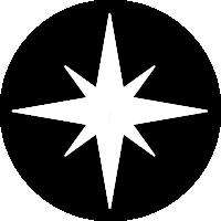 stjerne grafik på grå baggrund