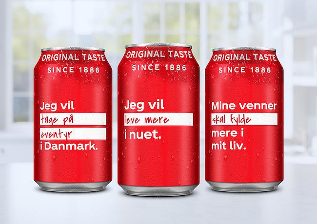 coca-cola danmark open to better kampagne
